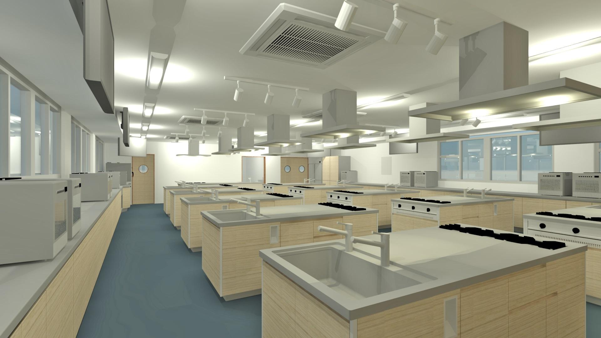 調理実習室イメージ